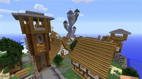 minecraft medieval town spanklechanks world  part  youtube