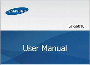 Samsung Galaxy Music Manual