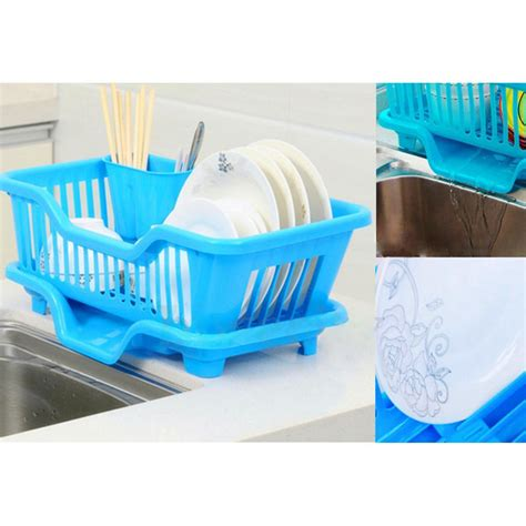 Kitchen Drainer Basket by Kitchen Sink Dish Plate Utensil Drainer Drying Rack Holder