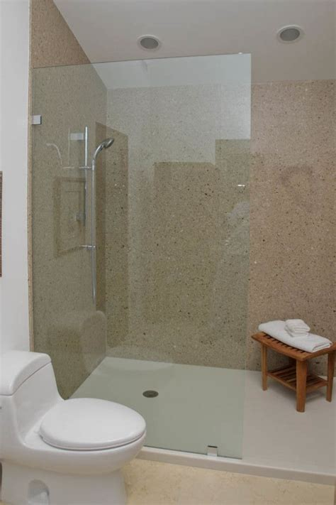 Shower And Bath Ideas by Solid Surface Shower Surrounds From Corian Shower Stalls