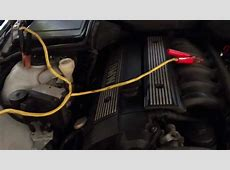 HOW TO JUMPSTART A CAR BATTERY FROM 9703 BMW 5 SERIES E39
