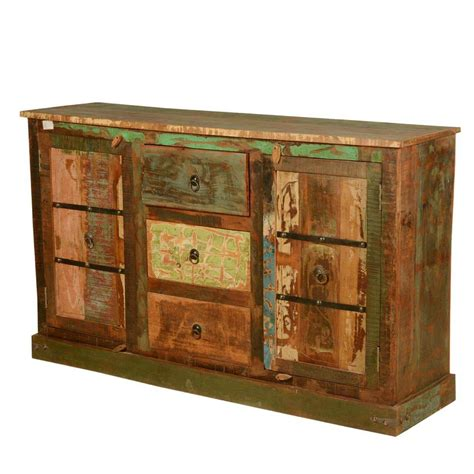 Reclaimed Wood Buffet Sideboard by Autumn Reclaimed Wood Rustic Sideboard Buffet Cabinet