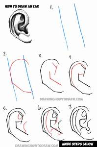 Learn How to Draw Ears and How to Shade Them : Drawing and ...