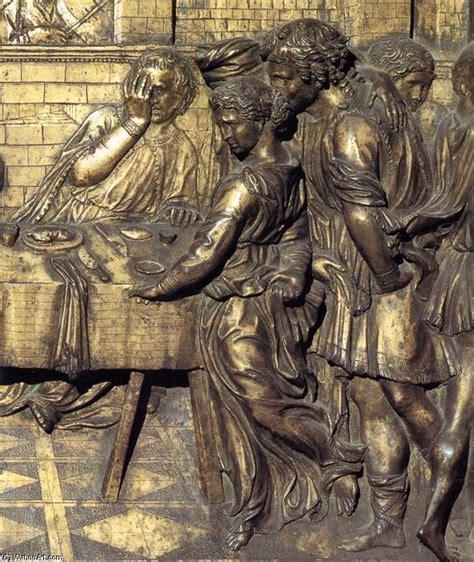 Banchetto Di Erode by Banchetto Di Erode Particolare 1427 Di Donatello 1386