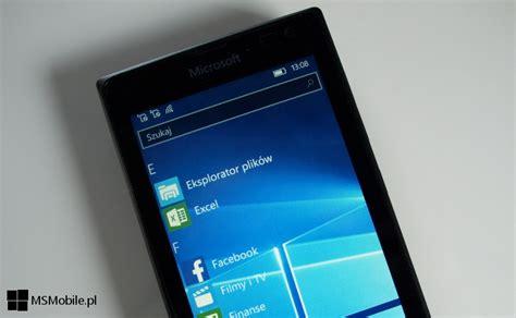 błędy w systemie windows 10 mobile w kompilacjach 10586 msmobile pl