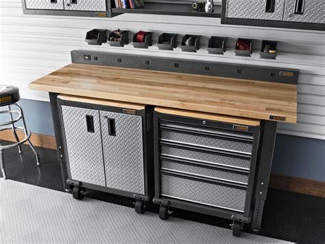 Armoire De Garage Costco by Plans De Travail Pour Garage