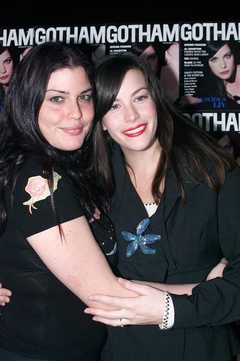 Liv Tyler and Sister