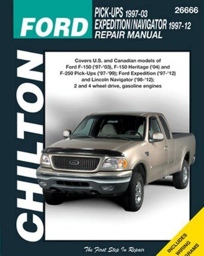 car repair manuals online pdf 2003 ford expedition lane departure warning chilton repair manual ford 1997 2003 pickup 1997 2014 expedition navigator buy online in uae
