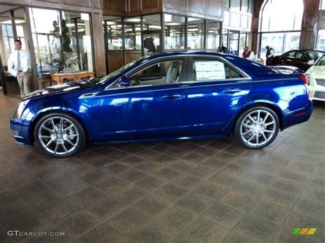 Cadillac Cts Blue by Opulent Blue Metallic 2012 Cadillac Cts 3 0 Sedan Exterior