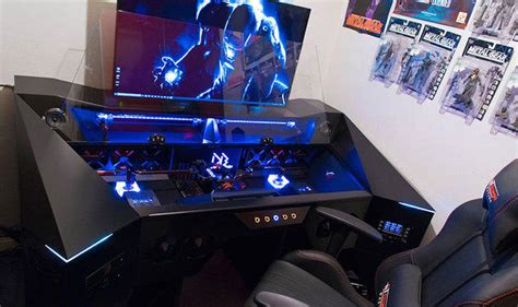 bureau pc gamer bureau pc gamer le coin gamer