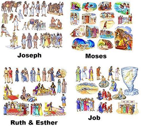 9 Old Testament Bible Stories Felt Figures   Flannel Board