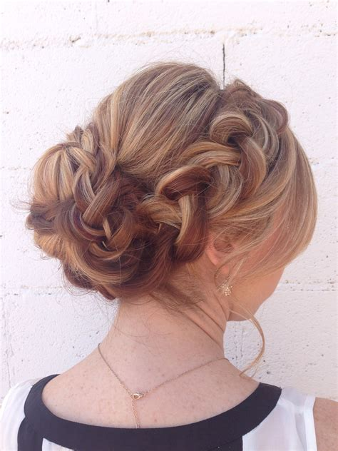 prom hairstyles thick hair soft braided updo for long thick hair hair hair