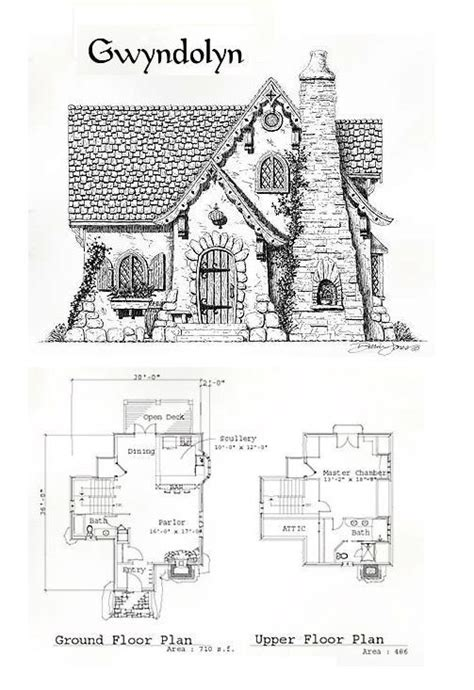 english storybook cottage plans house decor concept ideas