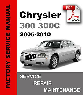 where to buy car manuals 2005 chrysler 300 spare parts catalogs chrysler 300 300c 2005 2006 2007 2008 2009 2010 service repair workshop manual ebay
