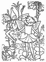 Coloring Pages Columbine Flower Fairies Colouring Printable Fairy Printables Designlooter Cartoon Wuppsy 1300 63kb sketch template