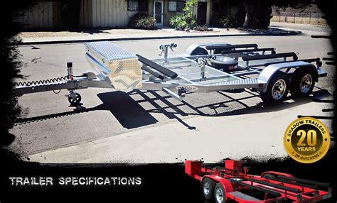 place pwc trailer custom built jet ski trailer custom watercraft trailers ca