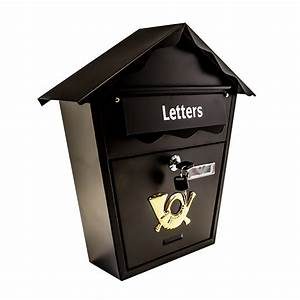 secure metal home outdoor mail post letter box wall With secure mail letter boxes