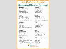 Our Montessori Inspired Homeschool Plan for Preschool 25