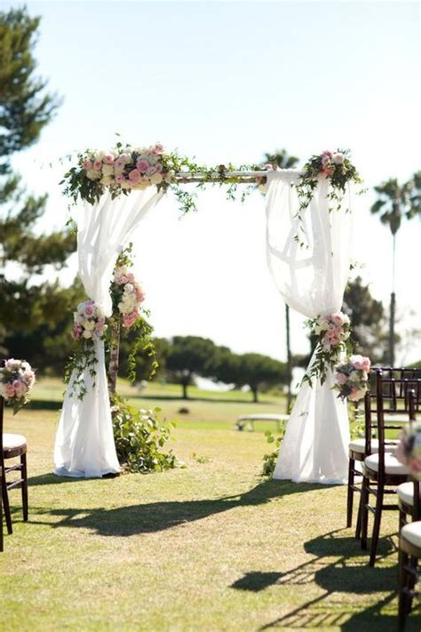 Best 25  Wedding arches ideas on Pinterest   Wedding altar decorations, Outdoor wedding arches