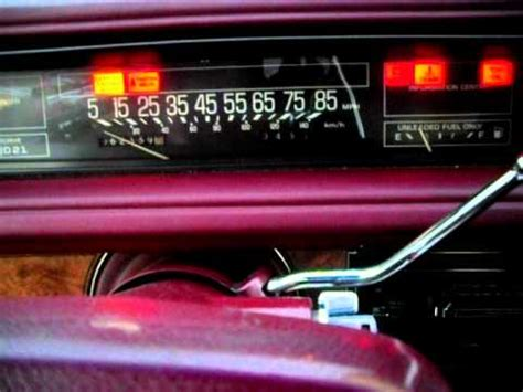 1991 Buick LeSabre Custom 62k Crankshaft problem? - YouTube