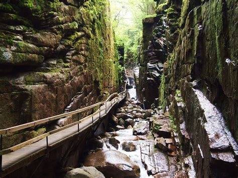 eat at kitchen island the flume gorge in lincoln nh hiking through history
