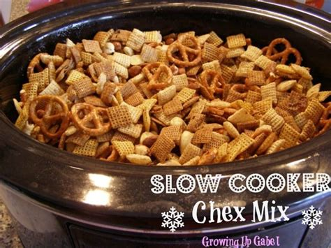 chex mix recipe slow cooker chex mix growing up gabel crockpot chex mixed recipes chexmix crockpotslowcook