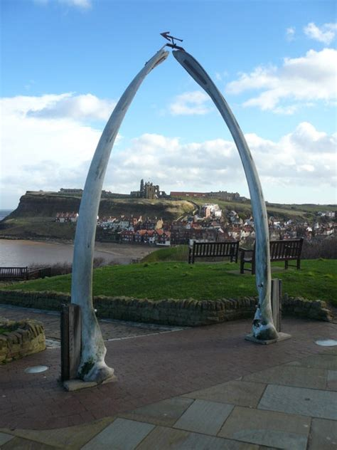 File:Whitby - Whalebone Arch and View - geograph.org.uk ...