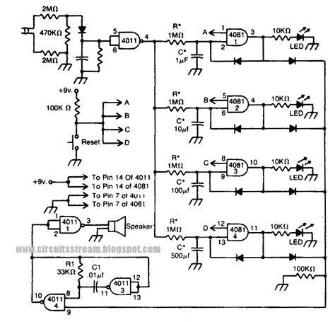 Simple Power Failure Detector Circuit Diagram Electronic