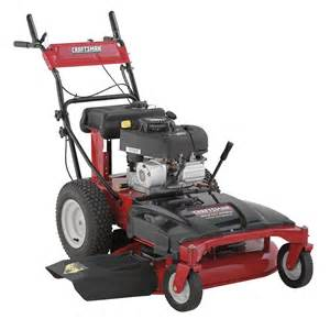 craftsman 88733 10 5 hp 33 quot briggs stratton wide cut rear wheel drive lawn mower