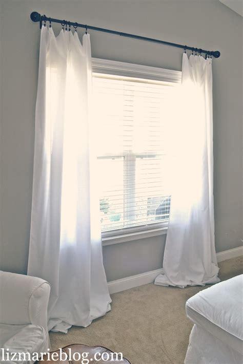 length of drapes diy floor length curtains