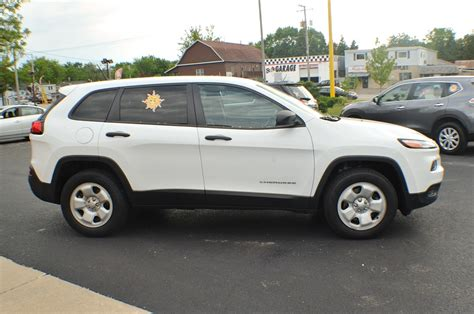Suv For Sale by 2014 Jeep White 4x4 Sport Used Suv Sale