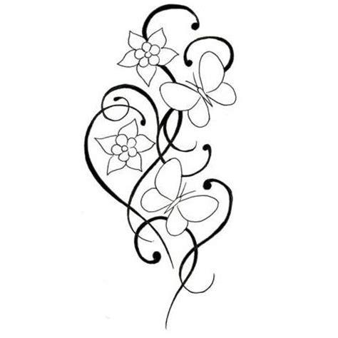 simple flower tattoo interior home design