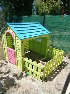 Cabane Enfant Occasion : maison de jardin pour petite fille les cabanes de jardin abri de jardin et tobbogan ~ Teatrodelosmanantiales.com Idées de Décoration