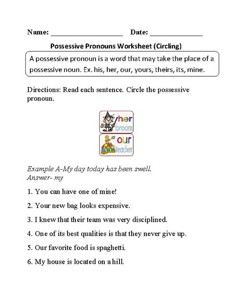 17 Best Ideas About Pronoun Worksheets On Pinterest  Pronoun Activities, 2nd Grade Grammar And