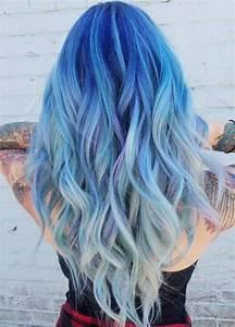 Blaue Haare Ombre : ocean hair trend is taking blue hair to the next level ~ Frokenaadalensverden.com Haus und Dekorationen