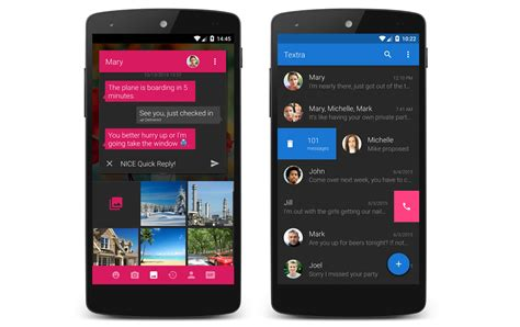 android messaging app textra sms to include rcs support next year for better