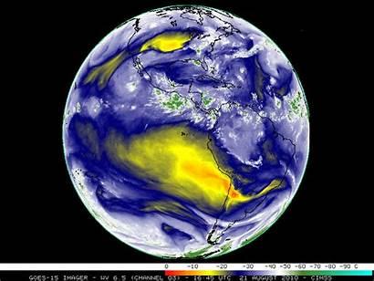 Goes Water Satellite Vapor Dry Signature Disk