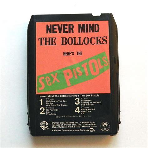 Vintage Sex Pistols Track Tape