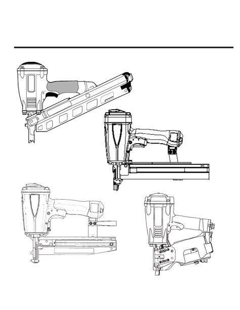 Paslode F350-S PowerMaster Plus 30 Framing Nailer User