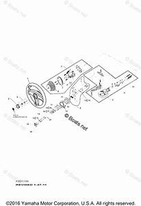 Yamaha Boat Parts 2003 Oem Parts Diagram For Steering Cables