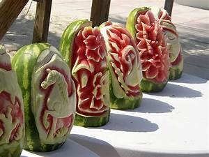 carving fruit summer recipes watermelon baskets With watermelon carving templates