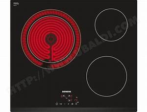 Plaque Vitro Céramique : siemens et631bk17e plaque vitroceramique pas cher ~ Melissatoandfro.com Idées de Décoration