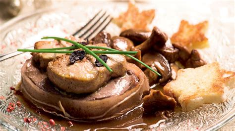 cuisine cepes recette gourmande tournedos rossini aux girolles