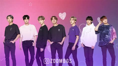 bts looping background  zoom youtube