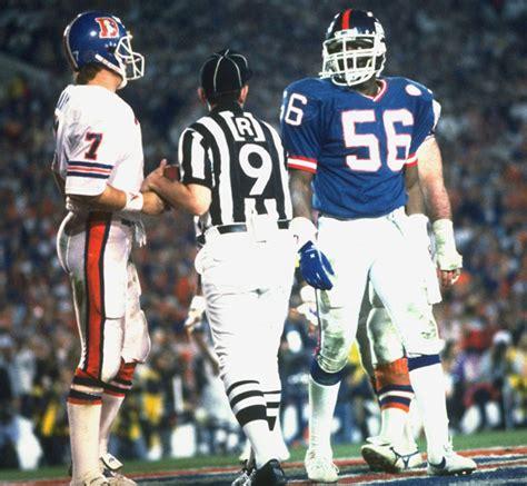 Nfl 1987 Super Bowl Xxi Broncos Vs Giants With John
