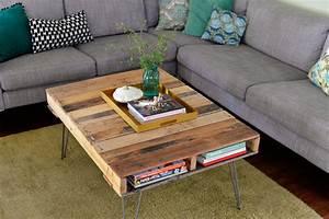 Palette De Bois : diy pallet coffee table useful guide for you ~ Premium-room.com Idées de Décoration