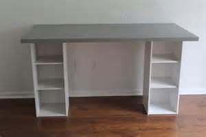 Linnmon Alex Desk White by Ikea Hack Desk Diy For Under 60