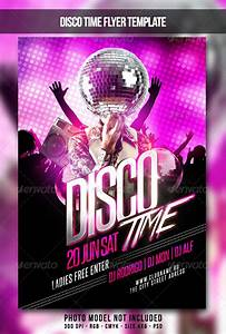 Disco Time Flyer By Maksn