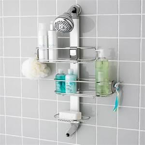 The basics about shower caddies ideas 4 homes for Bathroom caddies accessories