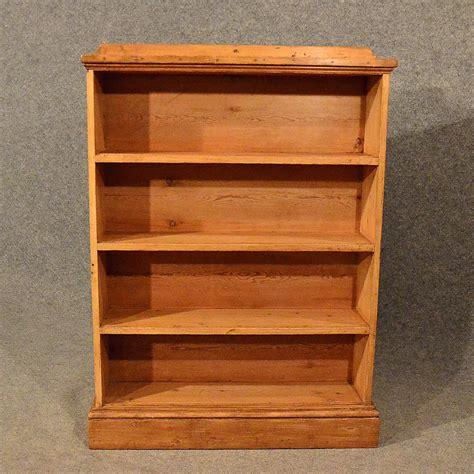 Antique Pine Bookcases by Antique Pine Open Cabinet Bookcase Shelves Antiques Atlas